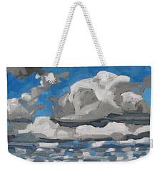 Cold Air Mass Cumulus Weekender Tote Bag