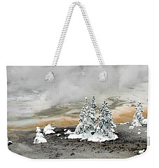 Cold And Hot Trees Weekender Tote Bag