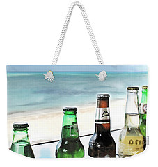 Cold Beers In Paradise Weekender Tote Bag