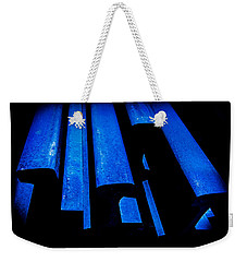 Cold Blue Steel Weekender Tote Bag by Steven Milner