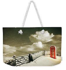 Cold Call Weekender Tote Bag