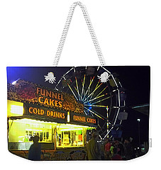 Cold Drink And Funnel Cakes Weekender Tote Bag
