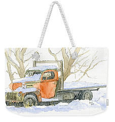 Cold Ford Weekender Tote Bag