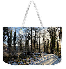 Weekender Tote Bag featuring the photograph Cold Morning by Felicia Tica