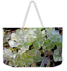 Cold Morning  Weekender Tote Bag
