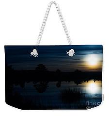Cold Winter Morning Weekender Tote Bag by Angela DeFrias