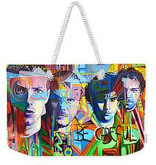 Coldplay Weekender Tote Bag by Joshua Morton