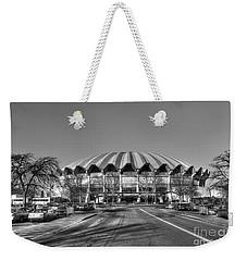 Coliseum B W With Moon Weekender Tote Bag