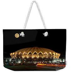 Coliseum Night With Full Moon Weekender Tote Bag