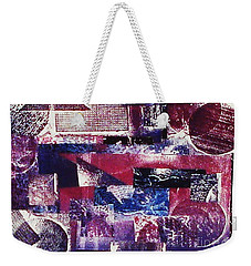 Collage Weekender Tote Bag