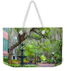 College Of Charleston Weekender Tote Bag