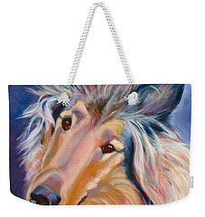 Collie Star Weekender Tote Bag
