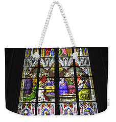 Cologne Cathedral Stained Glass Window Of Pentecost Weekender Tote Bag