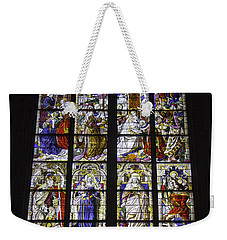 Cologne Cathedral Stained Glass Window Of The Three Holy Kings Weekender Tote Bag