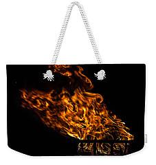 Fire Cresset Weekender Tote Bag