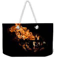 Fire Cresset Two Weekender Tote Bag
