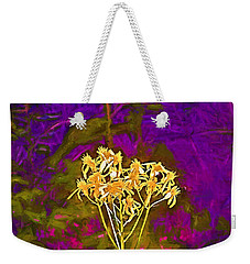 Weekender Tote Bag featuring the photograph Color 5 by Pamela Cooper