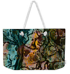 Color Abstraction Xvi Weekender Tote Bag