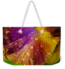 Color And Droplets Weekender Tote Bag
