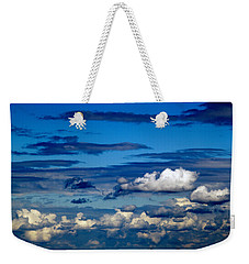 Color Burned Clouds Weekender Tote Bag