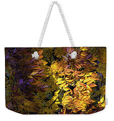 Weekender Tote Bag featuring the photograph Color Calls by Steven Santamour