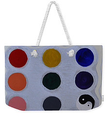 Color From The Series The Elements And Principles Of Art Weekender Tote Bag
