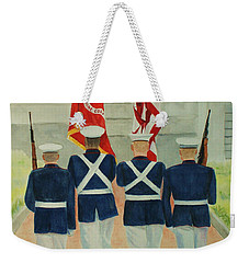Color Guard Weekender Tote Bag