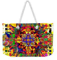 Color Splash Squared Weekender Tote Bag