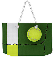 Color Transfer Across The Fault Line Weekender Tote Bag