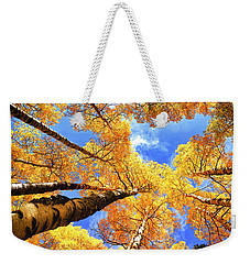 Colorado Autumn Sky Weekender Tote Bag