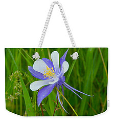 Colorado Columbine Weekender Tote Bag