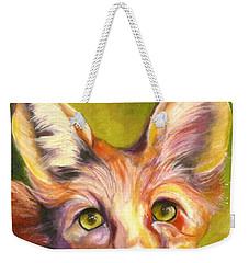 Colorado Fox Weekender Tote Bag