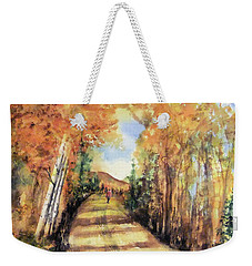 Colorado In September Weekender Tote Bag