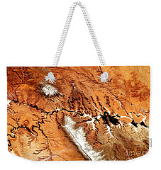 Weekender Tote Bag featuring the photograph Colorado Plateau Nasa by Rose Santuci-Sofranko