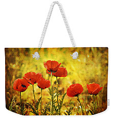 Colorado Poppies Weekender Tote Bag by Tammy Wetzel