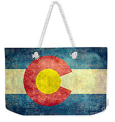 Colorado State Flag Weekender Tote Bag