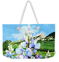 Colorado Summer Blues Weekender Tote Bag by Barbara Jewell