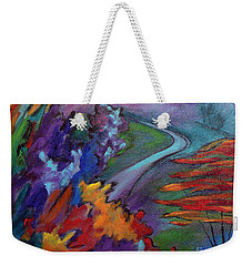 Colordance Weekender Tote Bag by Elizabeth Fontaine-Barr