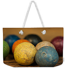 Colored Clay Marbles Weekender Tote Bag