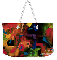 colorful abstract art - Jazz Time Weekender Tote Bag