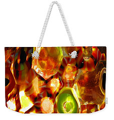 Colorful Abstract Weekender Tote Bag