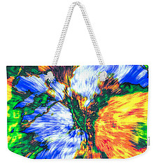 Colorful Bouquet Weekender Tote Bag