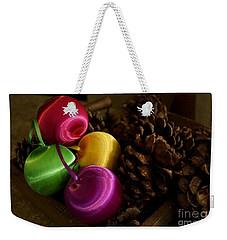 Colorful Christmas Balls Weekender Tote Bag