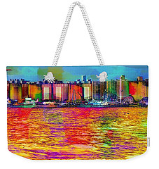 Colorful Coney Island Weekender Tote Bag