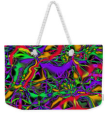 Colorful Connections Weekender Tote Bag
