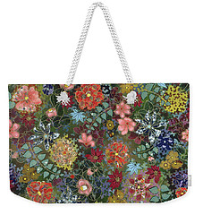 colorful flower painting - For July Weekender Tote Bag