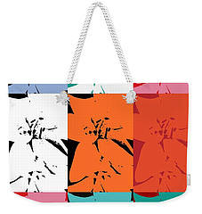 Colorful Flowers  Lily Weekender Tote Bag
