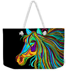 Colorful Horse Head 2 Weekender Tote Bag