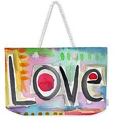Colorful Love- Painting Weekender Tote Bag