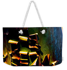 Weekender Tote Bag featuring the photograph Appealing Nature by Yulia Kazansky
